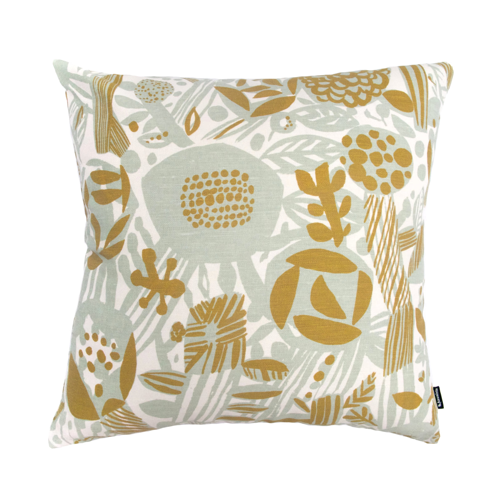 Potpourri green Cushion cover