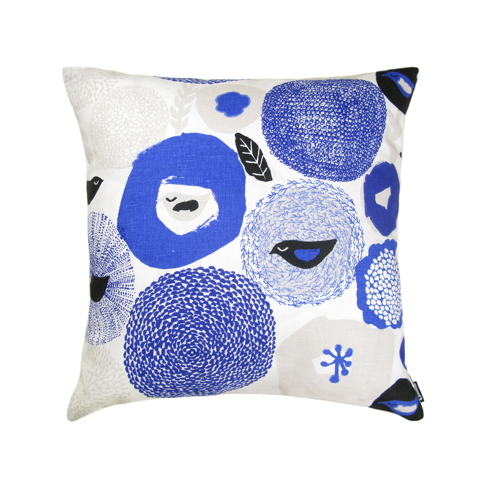 Sunnuntai blue Cushion cover